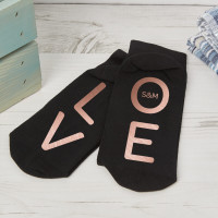 personalised L O V E Socks