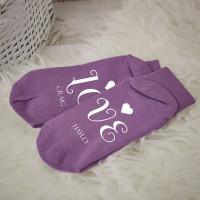 Personalised LOVE Socks