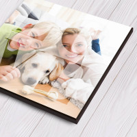 Personalised HD Photo Block Square