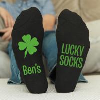 personalised lucky socks