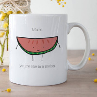 Personalised One in a Melon Durham Mug