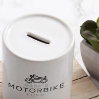 Personalised Motorbike Fund Money Box