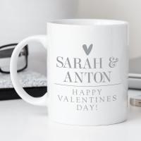 personalised Couple's Valentine's Day Mug