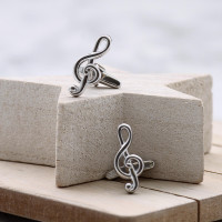 personalised Music Note Cufflinks Gift Set