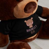 Personalised My Teddy Chocolate Teddy Bear