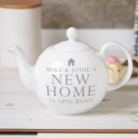 Personalised Pot Belly Teapot