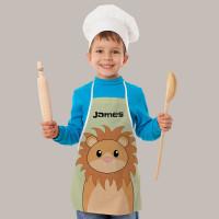 Personalised Lion Apron