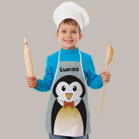 Personalised Penguin Apron