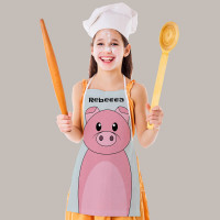 Personalised Pig Apron