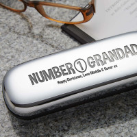 personalised number 1 grandad glasses cases