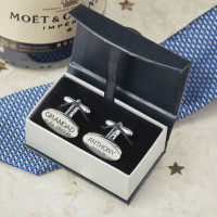 personalised Wedding Role Cufflinks