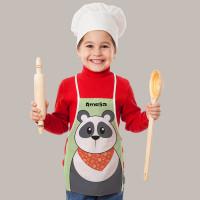 Personalised Panda Apron
