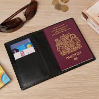 personalised passport card holder