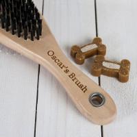 personalised dog brush