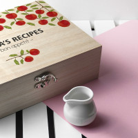 personalised Orchard Recipe Box