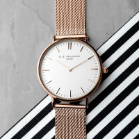 personalised rose gold watch
