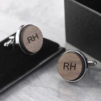 personalised initials cufflinks