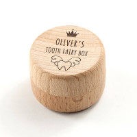 personalised Tooth Fairy Keepsake Box