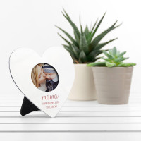 personalised Heart Mini Photo Frame