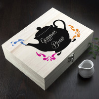 personalised My Favourite Brews Tea Box