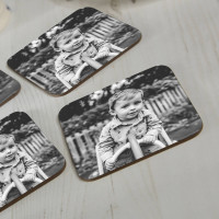 personalised photo coasters
