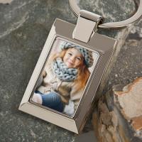 personalised photo upload keyring