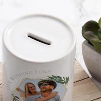 Personalised Wedding Fund Money Box