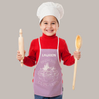 Personalised Cupcakes Pink Apron