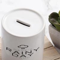 Personalised Rainy Day Fund Money Box