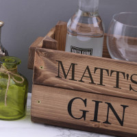 personalised gin crate