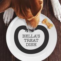 personalised sausage dog plate