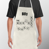 Personalised Scrabble Chef Apron