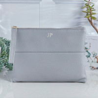 personalised Courtney Handbag Grey