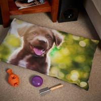 personalised Small Dog Bed