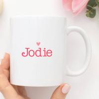 personalised 5 Reasons I Love You Mug
