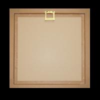 personalised Framed Photo Print - back