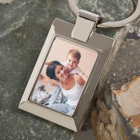 Personalised Mum Photo Upload Metal Keyring