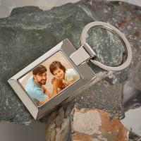 Personalised Uncle Photo Upload Metal Keyring