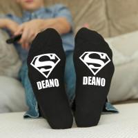 personalised super name socks