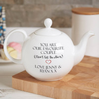 personalised perfect blend teapot