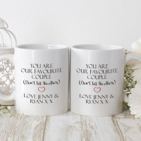 personalised the perfect blend matching mugs