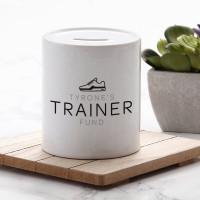 Personalised Trainer Fund Money Box