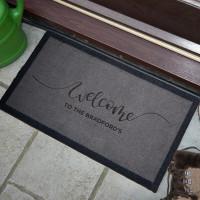 personalised family name doormat