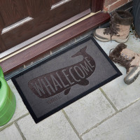 personalised washable doormat