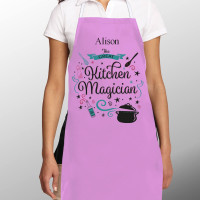 Kitchen Magician Women's Personalised Apron