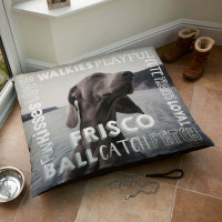 Words Dog Bed
