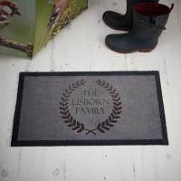 Personalised family doormat