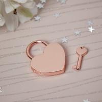 rose gold lock