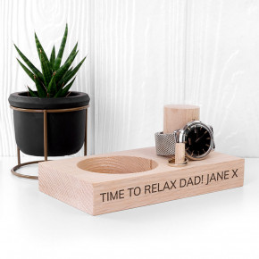 Wood Watch Stand