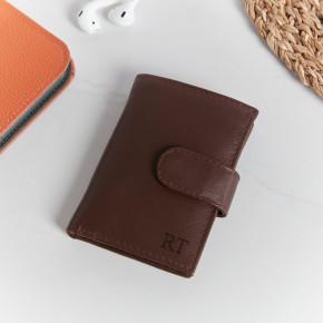 Ricki Credit Card Holder Cognac